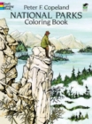 National Parks Coloring Book - Book