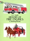 History of Fire Engines Coloring Book - Book