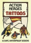 Action Heroes Tattoos - Book