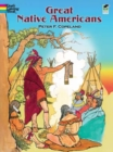 Great Native Americans Coloring Book - Book