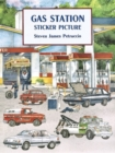 Gas Station Sticker Picture - Book