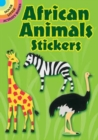 African Animals Stickers - Book