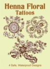 Henna Floral Tattoos - Book