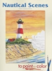 Nautical Scenes to Paint or Color - Book
