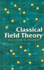 Classical Field Theory - Book