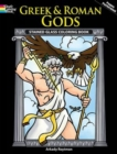 Greek and Roman Gods Stained Glass Coloring Book - Book