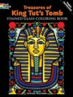 Treasures of King Tut's Tomb Stained Glass Coloring Book - Book