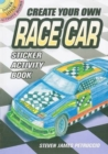 Create Your Own Race Car Sticker Activity Book - Book