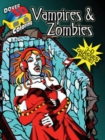 3-D Coloring - Vampires and Zombies - Book