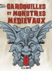 FRENCH EDITION of Gargoyles and Medieval Monsters Coloring Book - Book