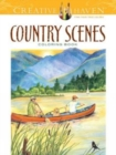 Creative Haven Country Scenes Coloring Book - Book