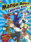 Manga Boys Coloring Book - Book