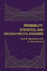 Probability, Statistics, and Decision for Civil Engineers - Book