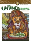 Creative Haven Untamed Designs Coloring Book - Book
