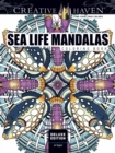 Creative Haven Deluxe Edition Sea Life Mandalas Coloring Book - Book