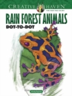 Creative Haven Rain Forest Animals Dot-to-Dot - Book