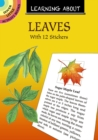 Learning About Leaves : With 12 Stickers - Book