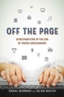 Off the Page : Screenwriting in the Era of Media Convergence - Book