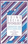 Doing Social Psychology : Laboratory and Field Exercises - Book