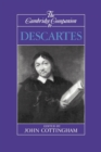 The Cambridge Companion to Descartes - Book