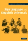 Sign Language and Linguistic Universals - Book