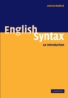 English Syntax : An Introduction - Book