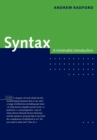 Syntax : A Minimalist Introduction - Book