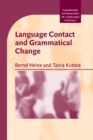 Language Contact and Grammatical Change - Book