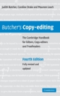 Butcher's Copy-editing : The Cambridge Handbook for Editors, Copy-editors and Proofreaders - Book