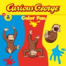 Curious George Color Fun (CGTV Read-aloud) - eBook