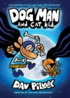 The Adventures of Dog Man 4: Dog Man and Cat Kid - Book