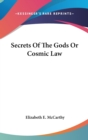 SECRETS OF THE GODS OR COSMIC LAW - Book