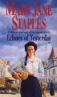 Echoes Of Yesterday : A Novel of the Adams Family Saga - Book