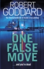 One False Move - Book