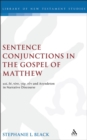 Sentence Conjunctions in the Gospel of Matthew : kai, de, tote, gar, oun and Asyndeton in Narrative Discourse - eBook