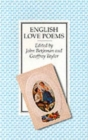 English Love Poems - Book