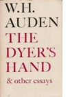 The Dyer's Hand & Other Essays - Book
