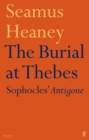 The Burial at Thebes - Book