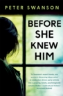 Before She Knew Him - Book