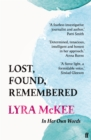 Lost, Found, Remembered - Book