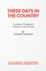 Three Days in the Country - Book