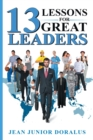 13 Lessons for Great Leaders - Book