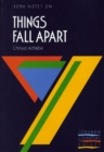 Things Fall Apart: York Notes for GCSE - Book