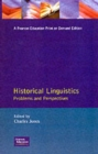 Historical Linguistics : Problems and Perspectives - Book