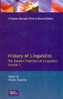 History of Linguistics Volume I : The Eastern Traditions of Linguistics - Book