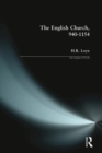 The English Church, 940-1154 - Book