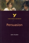 Persuasion: York Notes Advanced - Book