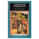 Language and Communication - Book