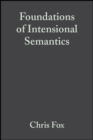 Foundations of Intensional Semantics - Book