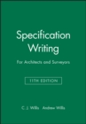 Specification Writing : For Architects and Surveyors - Book